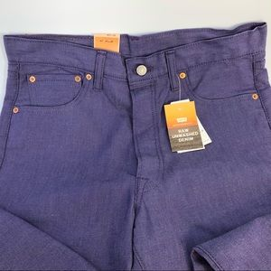 Levis 501 Button Fly Shrink to Fit Straight Leg